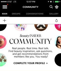 Sephora Beauty Insider Community