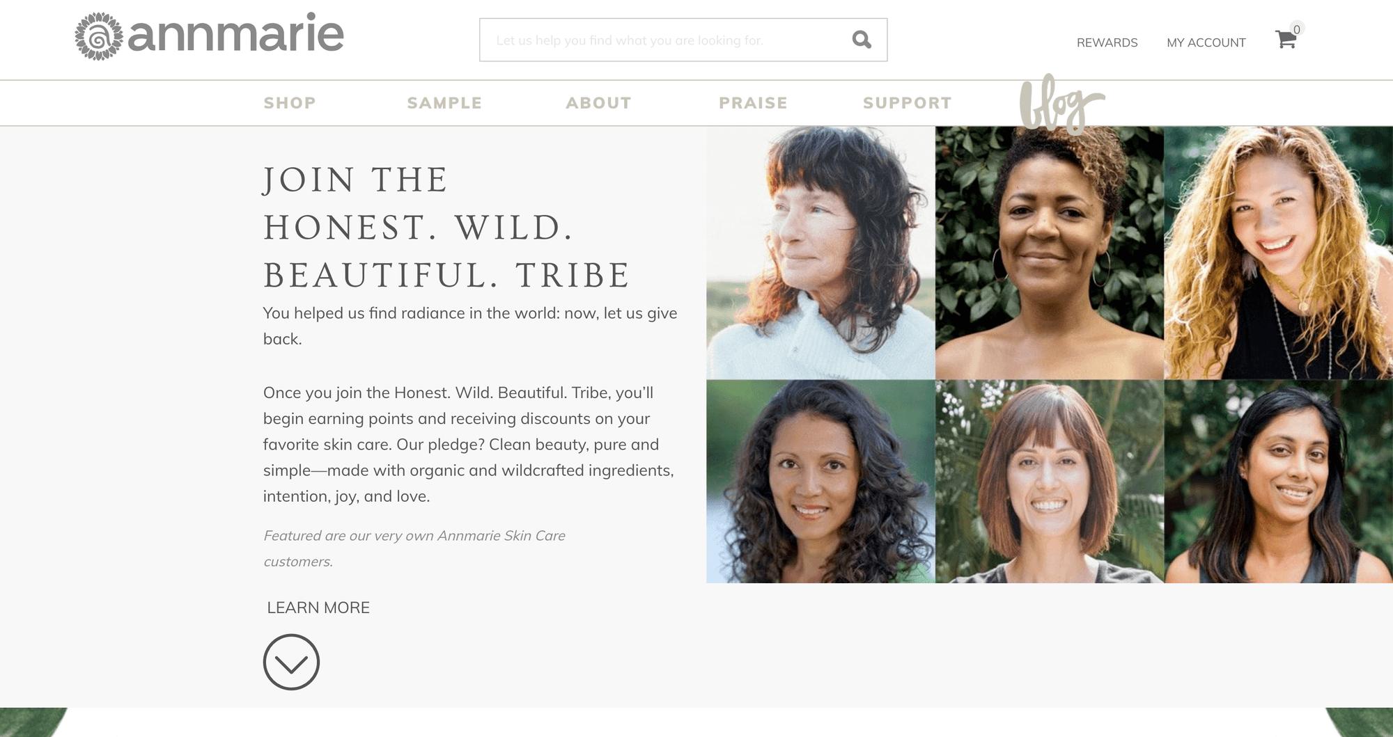 Annemarie Skincare Tribe