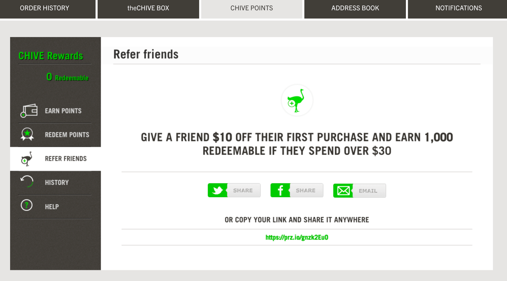 Thechive Referrals