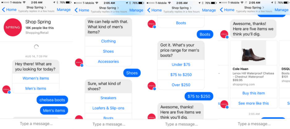 05 Spring Chatbot Example