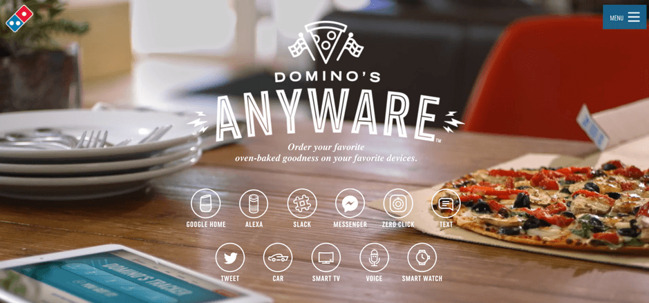 06 Dominos Chat Bot Example