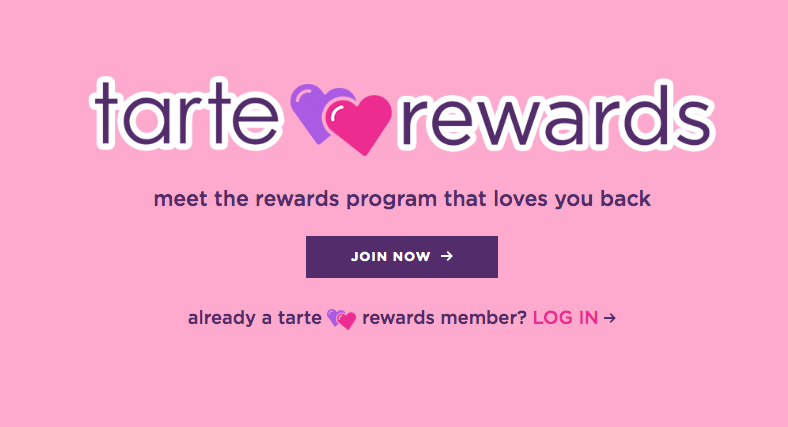 Tarte Rewards