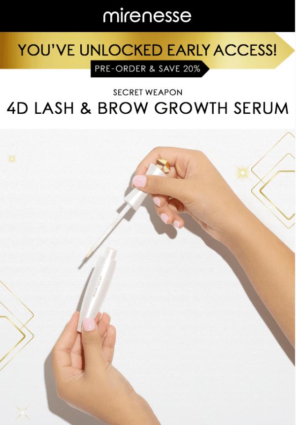 Mirenesse Lash Brow Serum