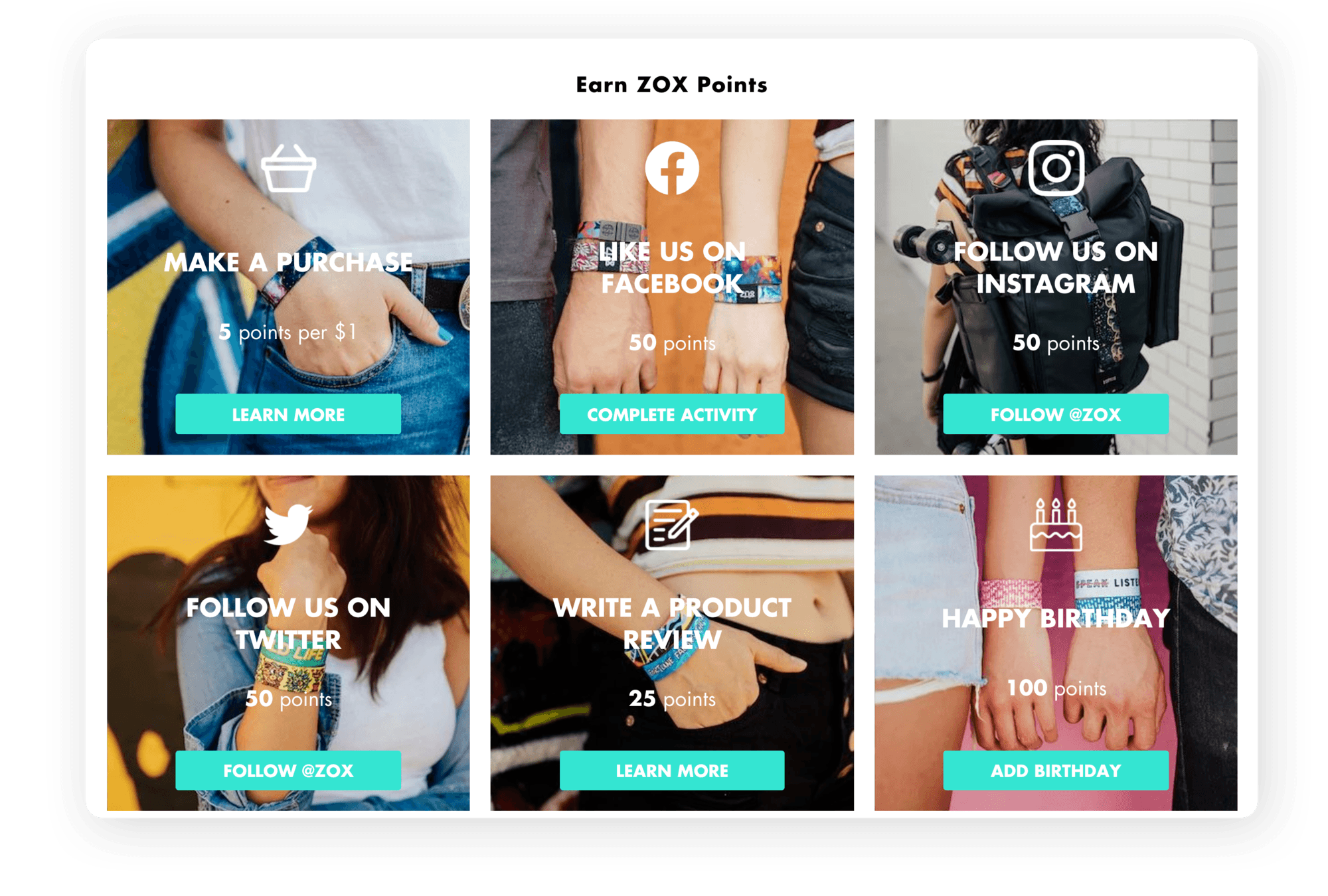 Zox Integrated Page Copy