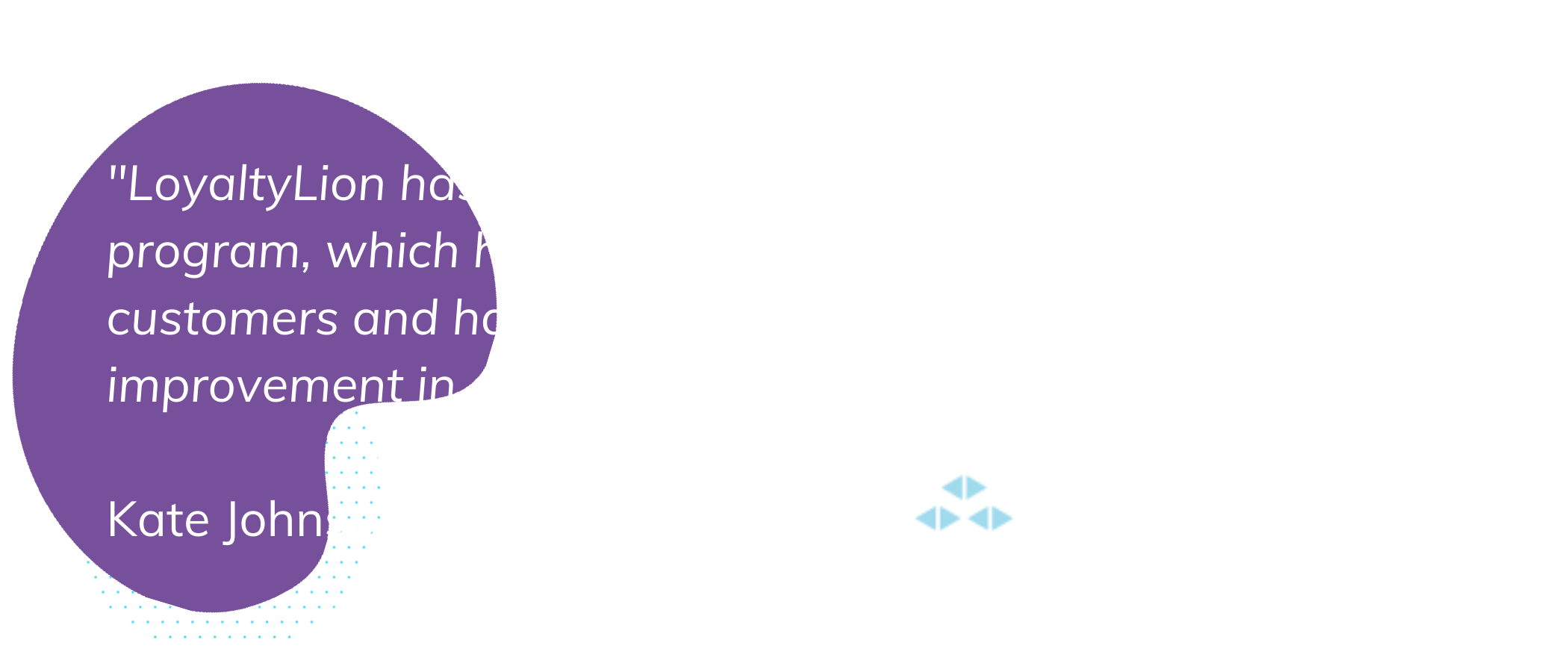 Quote From A Loyaltylion Customer