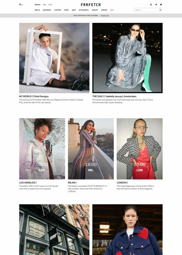 Farfetch Communities Womenswear