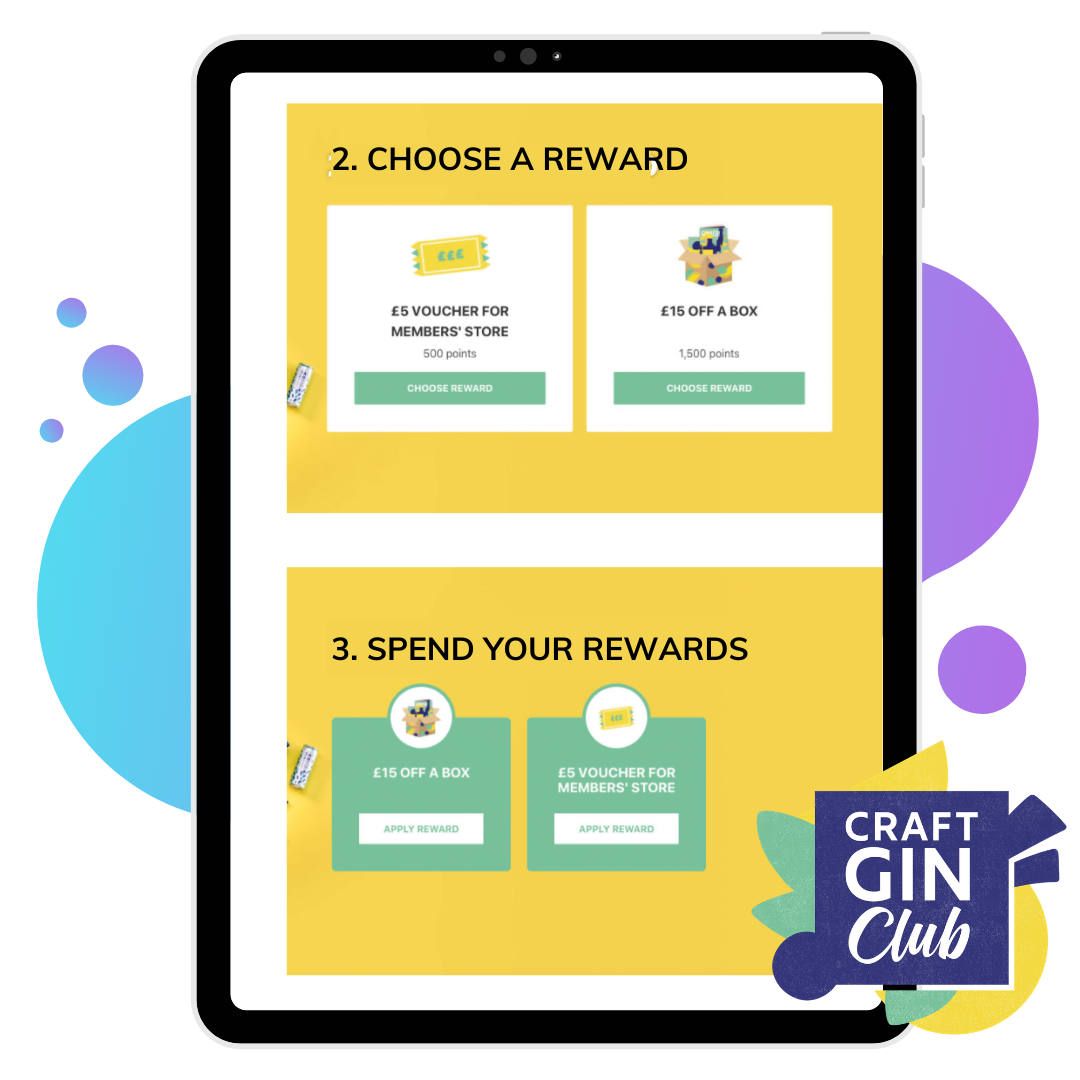 Food And Drink Loyalty Program Gin