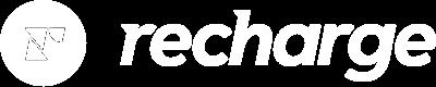 White Recharge Logo Copy